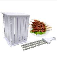 wine accessories - rapid wear meat machine manual meat grinder metal skewers barbecue accessories bbq tool grill series F
