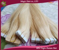 double sided adhesive tape - tape in hair extensions pieces skin weft tape remy hair extensions virgin brazilian hair blonde double sides adhesive cheap