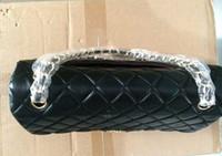 vintage bag - C Line Bag Bag Genuine Leather Woman Bags Fashion Designers Bolsas de marca Caviar Skin Bolsas Double Flap Bolso Vintage