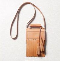 acne girls - ACNE studios crossbody bags stylish women messenger bag fashioan shoulder bolsas femininas cow leather handbag tassel genuine leather bags