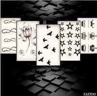 Wholesale Taty New Design Flash Tattoo Removable Waterproof Gold Tattoo Metallic Temporary Tattoo Stickers Body Art Tatoo more than style