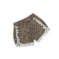 baby leopard cheetah - Baby Toddler Shorts zebra Leopard Print Pom Pom Shorts Cheetah Animal Print girls short baby bloomers