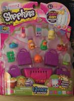 fruit gift baskets - fruit trader shopshopkins season basket shopping bag doll set Play house toys children gifts Play house toys Plastic toy