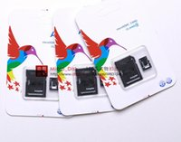 Wholesale DHL GB Class Micro SD TF Memory Card MicroSDHC Card for Tablet PC Digital Cameras MP4 HTC Sony Nokia ZTE Smart Phones