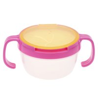 Wholesale Snack Bowl Infant No Splashing Picnic Mate Baby Candy Food Box with Handle Babies Cookies Cup Baby Food Storage