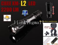 bicycles usa - USA EU Hot Sel E007 CREE XM L2 Lumens cree led Torch Zoomable bicycle bike cree LED Flashlight Torch lamp with bicycle light mounts clip