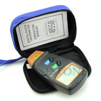 Wholesale Y122 New Digital Photo Tachometer Non Contact RPM Tach Tester RPM Motor