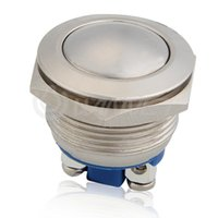 Cheap 12V Waterproof Metal Circle Latching Push Button Momentary Horn Switch Car