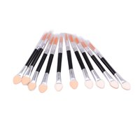 applied applications - Pieces Apply Eyeshadow Sponge Sticks Eyeshadow Application Blending Brush Eye Makeup Tools Product