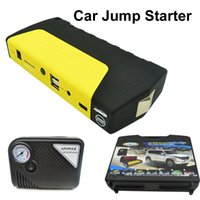 Wholesale 11100mAh Enough Car Jump Starter Charger for Electronics Phone Diesel Vehicles Auto Engine Emergency Battery Inflatable Pump