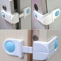 garderobe - 4Pcs For Baby Kid Safety Cabinet Cupboard Garderobe Drawer Fridge Door Lock Latch New