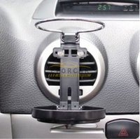 Wholesale 2015 hot sale Universal Car Truck Vehicle Air Outlet Folding Drink Bottle Cup Holder Stand