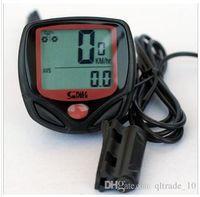 bicycle digital speedometer - 2015 Multifunction Waterproof LCD Bicycle Odometer RA Digital Meter NEW Bike Cycle Computers Speedometer Stopwatch Cycling Computers