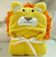 Wholesale Animal Shape Baby Blankets Baby Hooded Bathrobe Baby Bathrobe Baby Bath Towel order lt no tracking