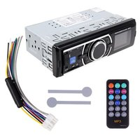 Wholesale New Car Audio Stereo In Dash MP3 Player Radio USB SD WMA AUX input FM Receiver