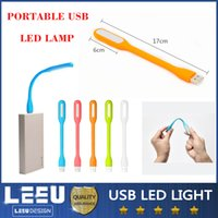 Wholesale Xiaomi USB LED Lamp Light Any orientation Portable Flexible for Notebook Laptop Ipad Tablet USB Power Gadget Bendable Lights
