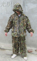archery suit - Camo D Leaf Yowie Ghillie Sniper Paintball Archery Bowhunting Hunting SUIT