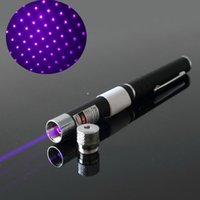 Wholesale Free DHL new in Star Cap Pattern nm mw BLUE Laser Pointer Pen With Star Head Laser Kaleidoscope Light