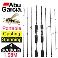 baitcasting rods - 1 m cheap abu garcia casting spinning carbon fiber fishing rod sections casting rod for fishing spinning baitcasting pole