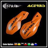 acerbis plastics - ACERBIS Orange Plastic quot mm Handlebar Hand Guard Handguard Motorcycle KTM EXC Pit Dirt Bike Motocross MX Supermoto ATV Quad