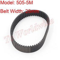 Wholesale 2pcs M Type Timing Belt M mm Belt Width mm Pitch for M Timing Pulley