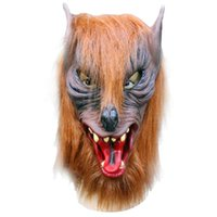animal diversity - Masquerade Masks Wolf Mask Latex Animal Costume Prop Halloween Funny Diversity Fancy Ball Mask
