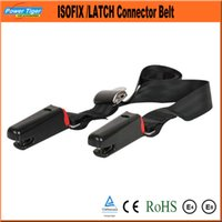 Wholesale 170cm Length Child Safety Seat ISOFIX LATCH Connector Seat Belt Fixed Connection Child Safety Seats CD