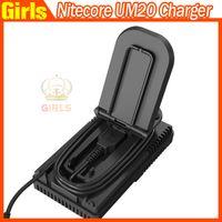 Wholesale Nitecore UM20 Intellicharger LCD Display E Cigarette Battery Charger for pk Nitecore I4 D2