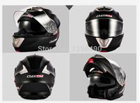 auto rally - LS2 Standard carbon Auto Racing Helmet Rally Race Helmet Motorcycle Dual Lens expose visor Racing Helmet Male full face helmet