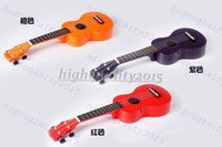 Wholesale Hawaii quot Acoustic Soprano Hawaii Strings Ukulele Musical Instrument black