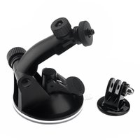 Wholesale Gopro accessories car Suction Cup Mount For Go Pro sports Camera HD HERO Tripod Adapter Screw Nut GP61