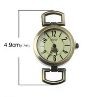 watch face for beading - atches Accessories Watch Faces Set Fixed Mixed Retro Quartz Watch Faces Bronze Tone For DIY Watches Beading Fine Jewelry Bracelets