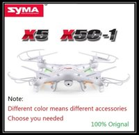 Wholesale SYMA X5C Upgrade Version SYMA X5C RC Drone Axis Remote Control Helicopter Quadcopter With MP HD Camera or X5 No Camera
