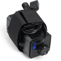 Wholesale ABS x18650 bicycle light waterproof battery case powered by four sections lithium for LED lights