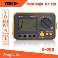 analog insulation tester - New VC60B Digital Insulation Resistance Tester Megger MegOhm Meter