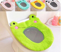 Wholesale 2015 Toilet Seat Cover Bathroom Carpet Set Bathroom Home Daily Colorful Flocking Soft And Comfortable Toilet Mat Cover Sets