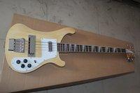 Wholesale Musical instruments Natural Clours Bass Guitar Strings RICK Electric Bass guitar