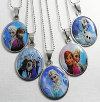 Steel - 2014NEW Frozen Stainless Steel Pendant Necklaces Fashion Jewelry