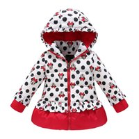 baby winter clothes - girls winter coat children cute polka dot hooded down jacket outerwear kids girl warm clothing baby fashion cartoon clothes