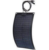 used boats - 20W Marine yacht boat use Monocrystalline semi flexible solar panel light weight V Flexible