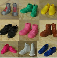 best friends shoes - Wholsale Price pairs shoes For Barbie Boy friend Ken Dolls Accessories Best gift for girl