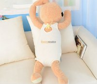 Wholesale Fancytrader cm Stuffed Giant Plush Le Sucre Rabbit Bunny Colors Available Nice Gift For Babies FT50598