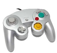 Precio de Extensión del controlador-NGC Juego de juegos con cable Controlador Gamepad Joystick Turbo DualShock para NGC Consola Nintendo Gamecube Wii U Cable de extensión Cable Q2