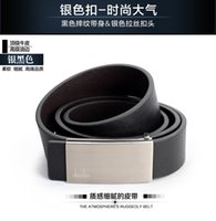 Wholesale 3 cm cm men leather belt Han edition fashion belt hot freeshipping