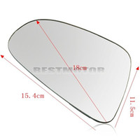 Wholesale Right Side Heated Wing Door Mirror Glass White Lens For VW Golf GTI Rabbit MK6