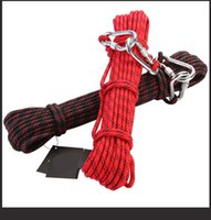 climbing rope - Climbing Rope Survival Rope Outdoor Gear Equipment Mountain war Safety Rescue Parachute Cord Desert Paracord Downhill Strong Antion