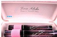 eyelash fiber mascara - Love Alpha Mascara Bling Bling Pink D Fiber Mascara Eyelash Grower Lash Extension Mascara set