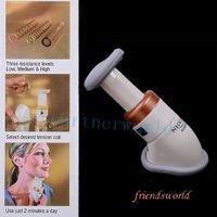Wholesale Hot selling Portable Neckline Slimmer Neck Exerciser Chin Massager DHL Fedex UPS