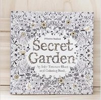 coloring book - Secret Garden An Inky Treasure Hunt and Coloring Book For Children Adult Relieve Stress Kill Time Graffiti Painting Drawing Book