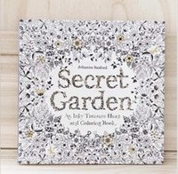 Wholesale Secret Garden Datura An Inky Treasure Hunt and Coloring Book For Children Adult Relieve Stress Kill Time Graffiti Painting Drawing Book